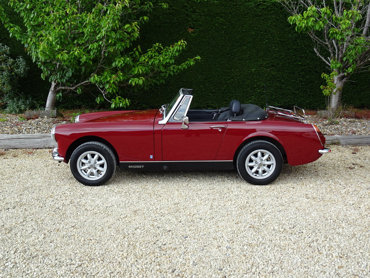 MG Midget MkIII – Enigma Reshell - Superb Press Car For Sale (picture 4 of 6)