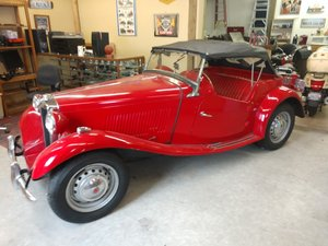 Lot 121- 1953 MG TD For Sale by Auction