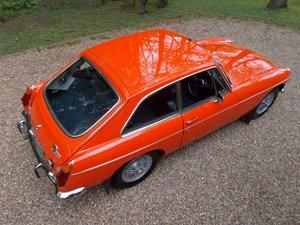 MGB GT 1973 Comprehensive Rebuild  For Sale