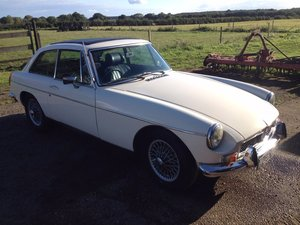 MGB GT 1.8 1973 Chrome Bumper For Sale