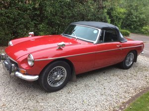 Amazing MKII 1970 Red MGB Roadster For Sale