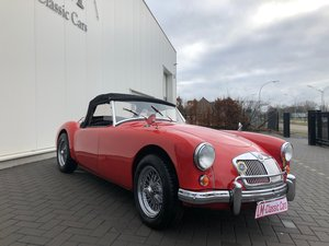 1956 MG-A roadster top condition For Sale