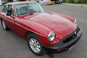 1977 MGB GT , Carmine red For Sale