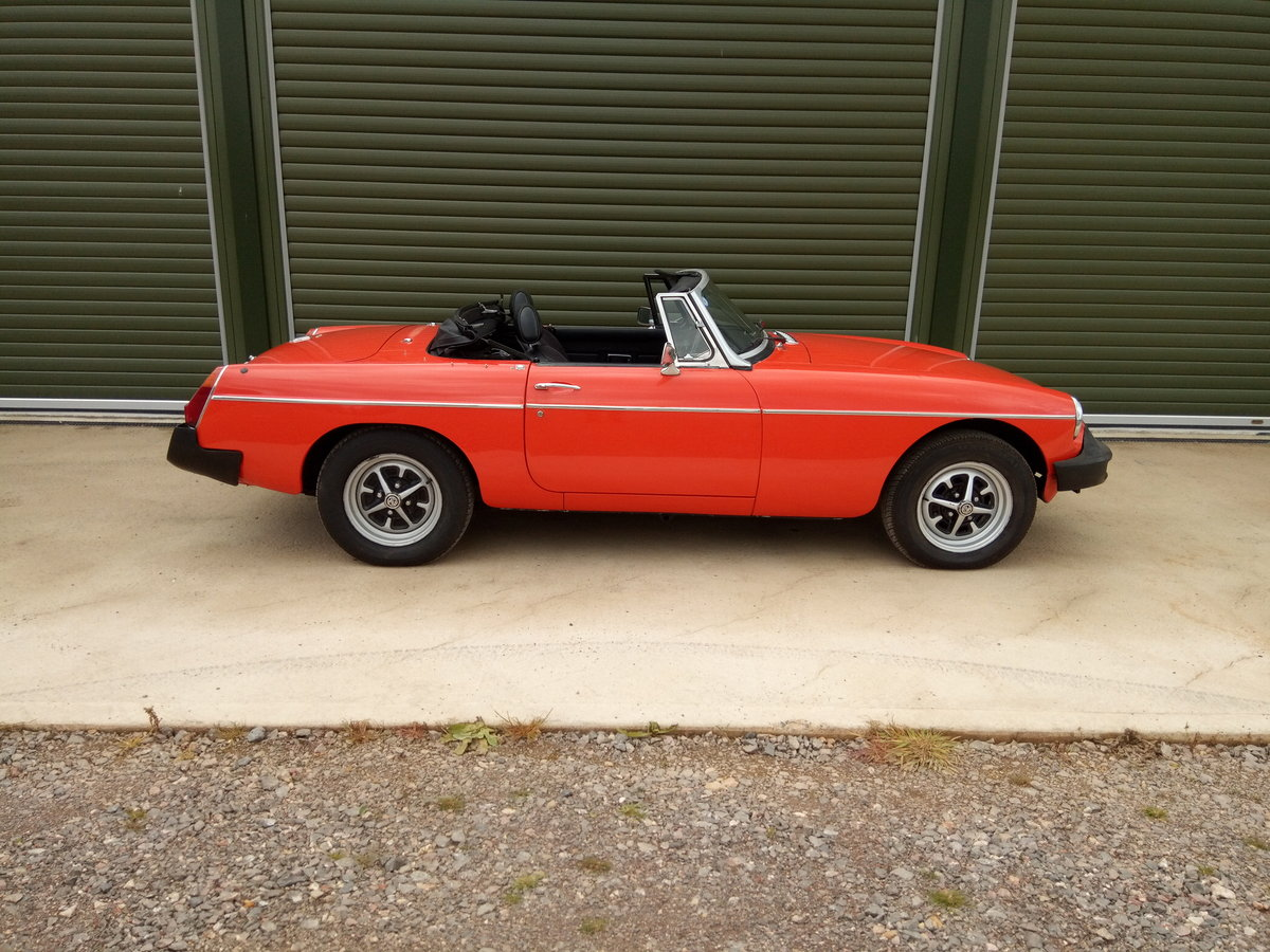 1978 MGB Roadster lovely condition, history, low mileage SOLD (picture 2 of 6)