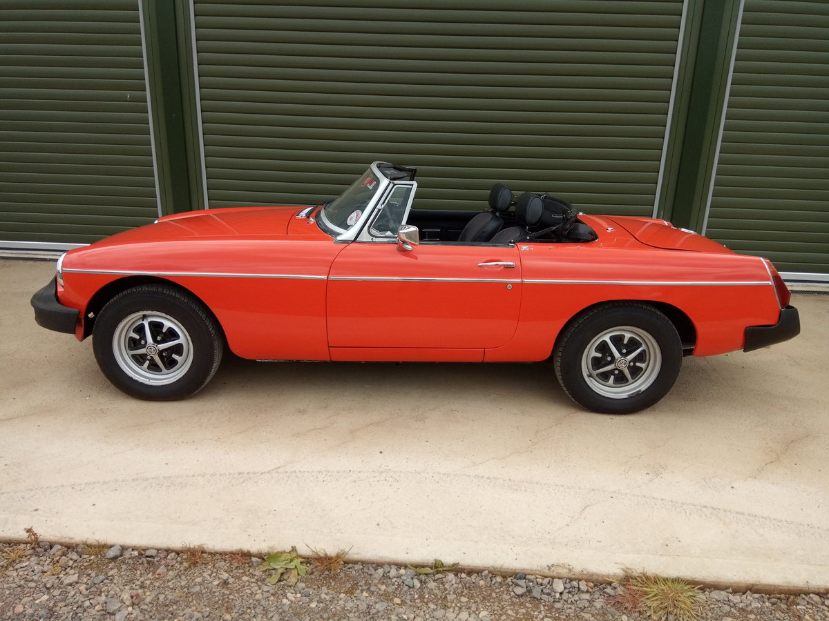 1978 MGB Roadster lovely condition, history, low mileage SOLD (picture 3 of 6)