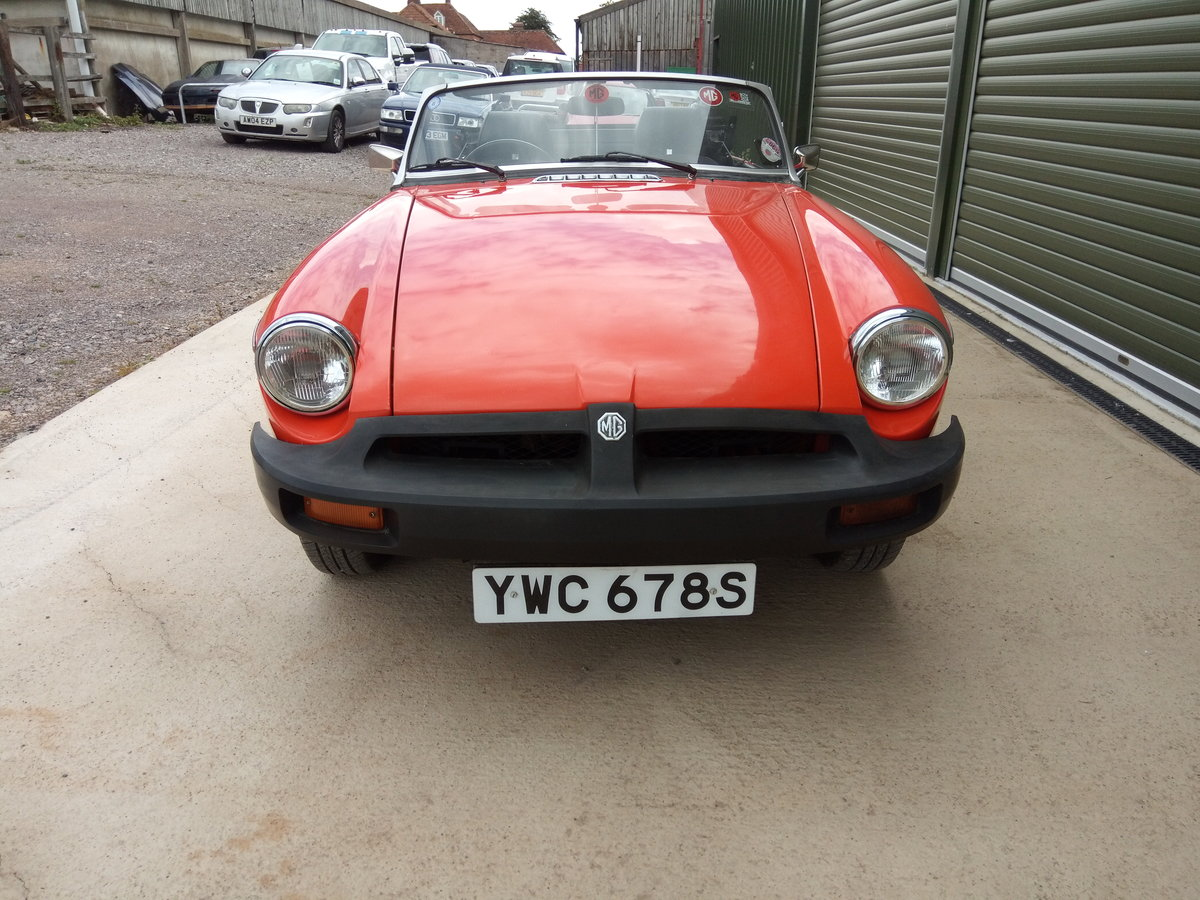 1978 MGB Roadster lovely condition, history, low mileage SOLD (picture 4 of 6)