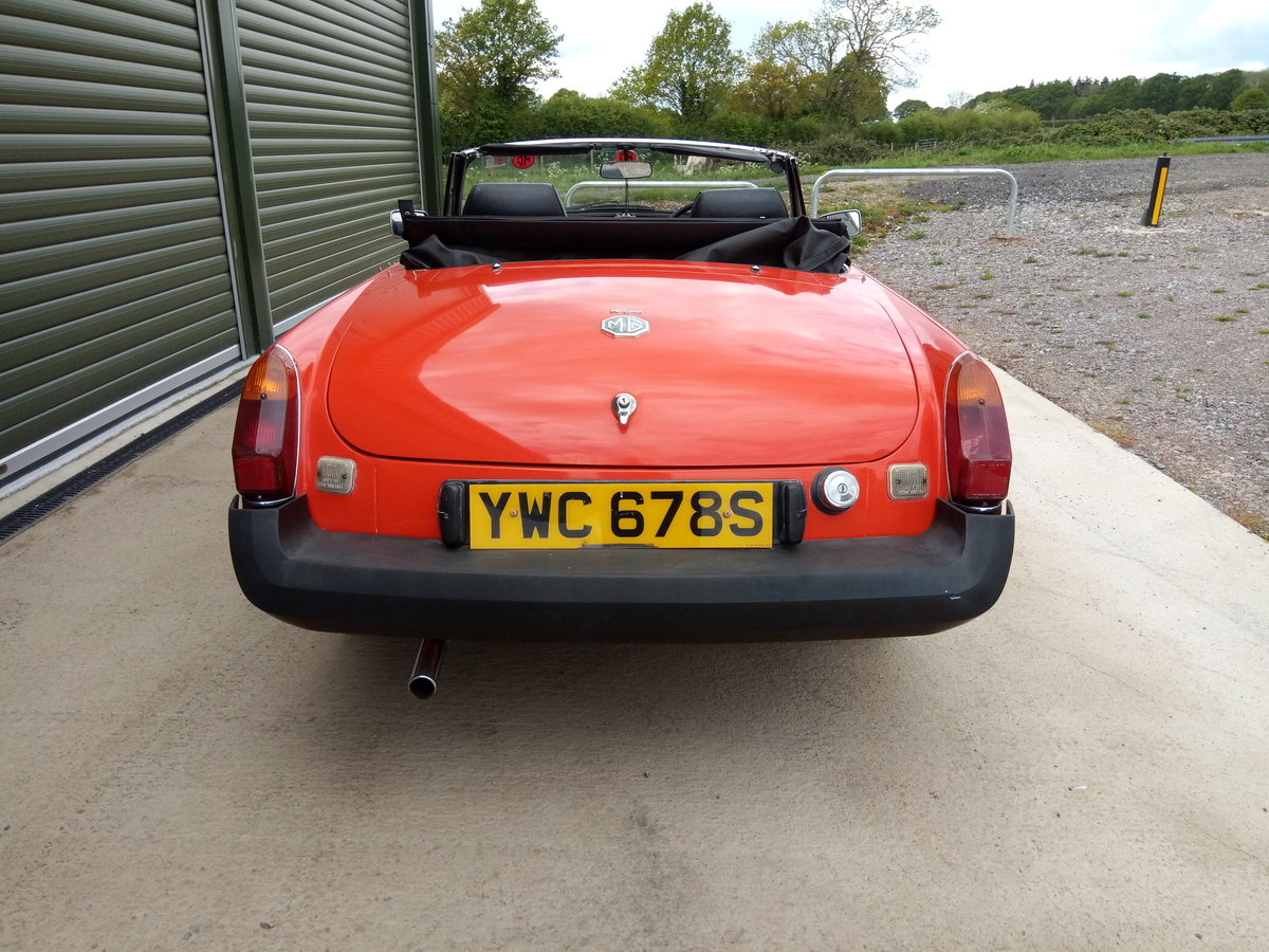 1978 MGB Roadster lovely condition, history, low mileage SOLD (picture 5 of 6)