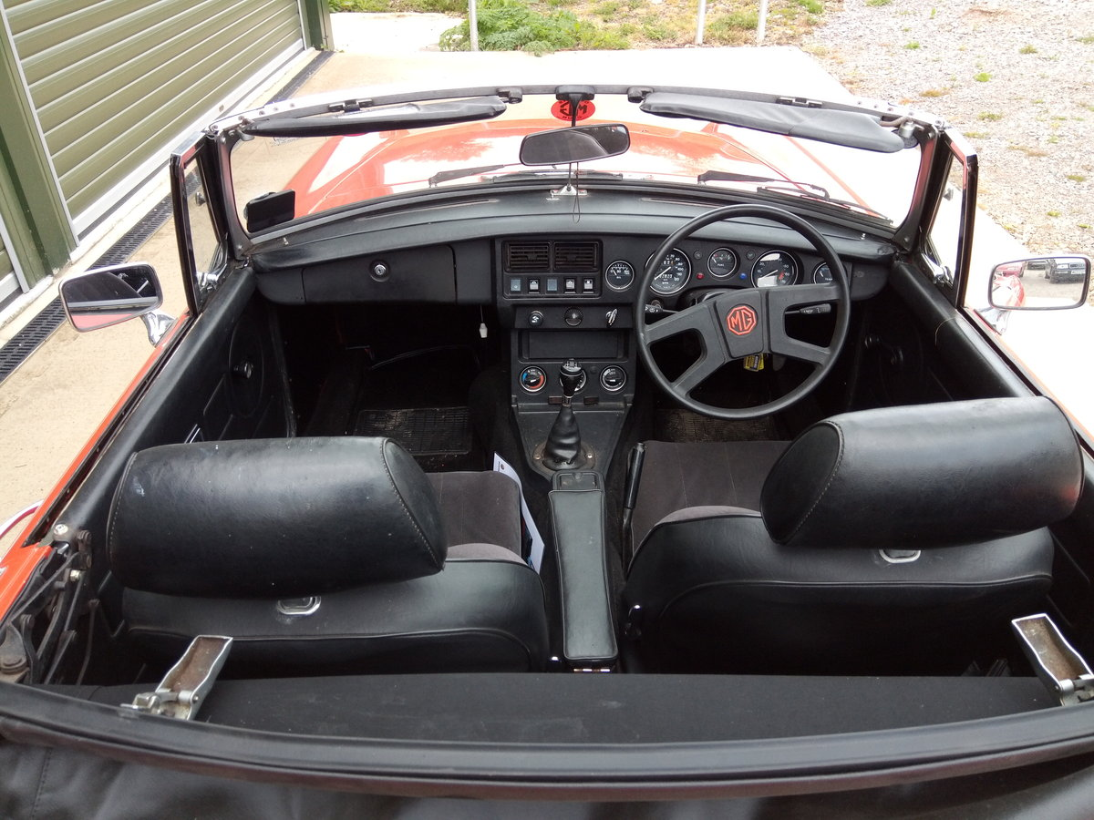 1978 MGB Roadster lovely condition, history, low mileage SOLD (picture 6 of 6)