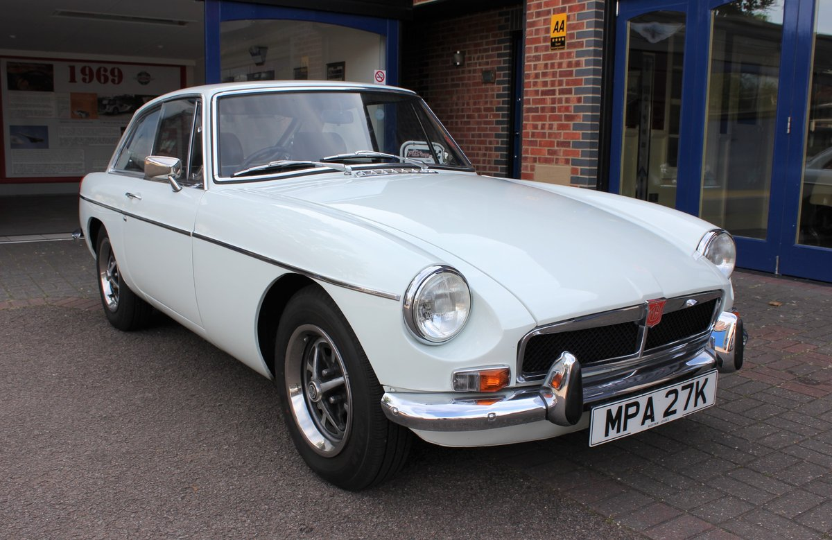 1972 MGB GT -  Great Example - £7995 For Sale (picture 1 of 6)