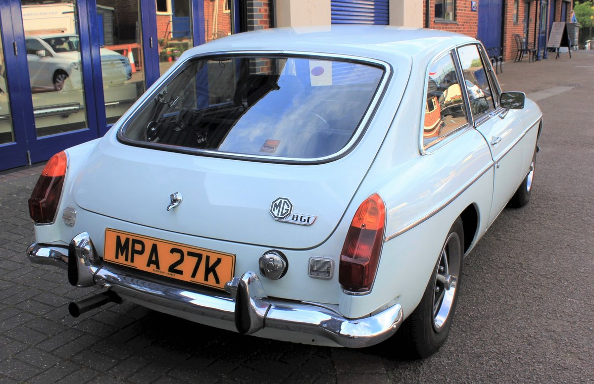 1972 MGB GT -  Great Example - £7995 For Sale (picture 4 of 6)