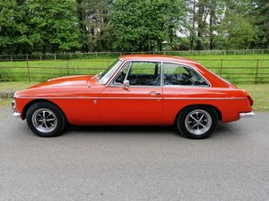 1972 MGB GT unrestored with only 21,600 miles For Sale