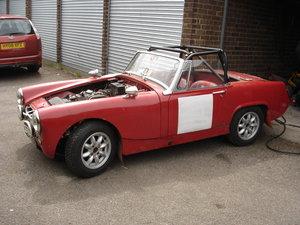 MG MIDGET 1966 CLASSIC RACE RALLY CAR For Sale