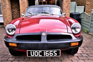 1978 MGB Roadster Good Show Condition