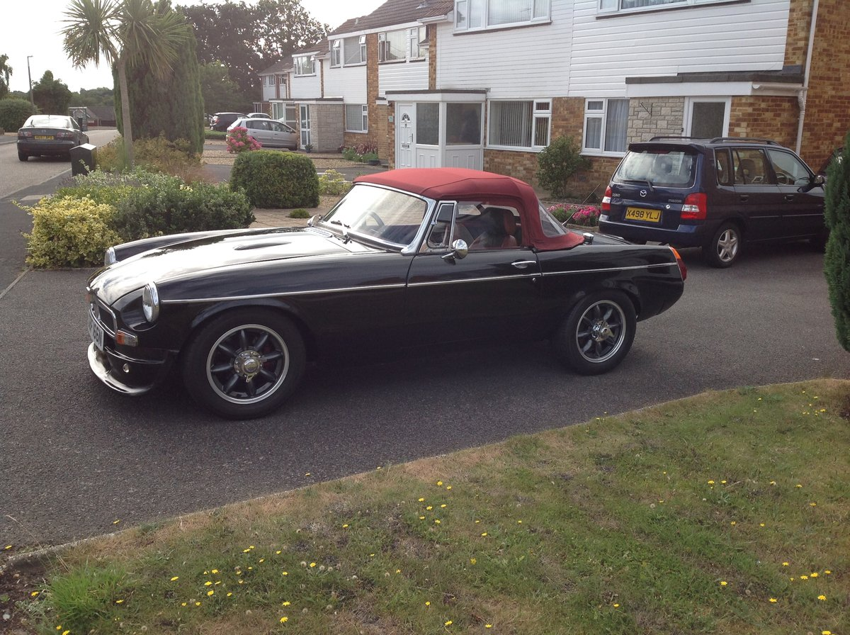 1974 Amazing MGB  Roadster (Something Special) SOLD (picture 1 of 6)