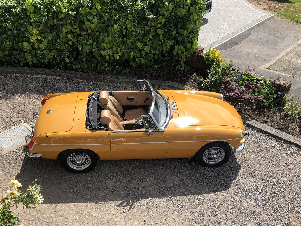 MGB ROADSTER 1973 LOVELY CAR FROM HCC For Sale (picture 1 of 6)