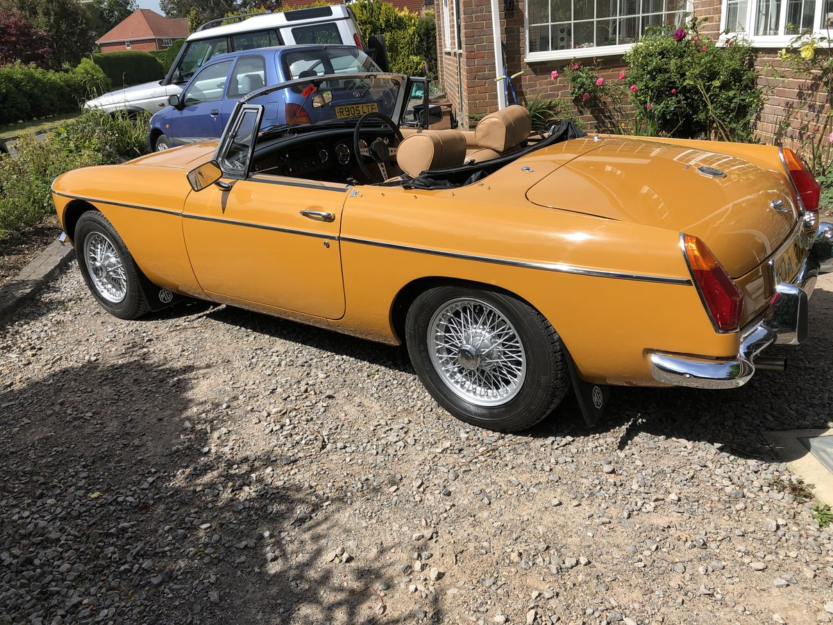 MGB ROADSTER 1973 LOVELY CAR FROM HCC For Sale (picture 3 of 6)