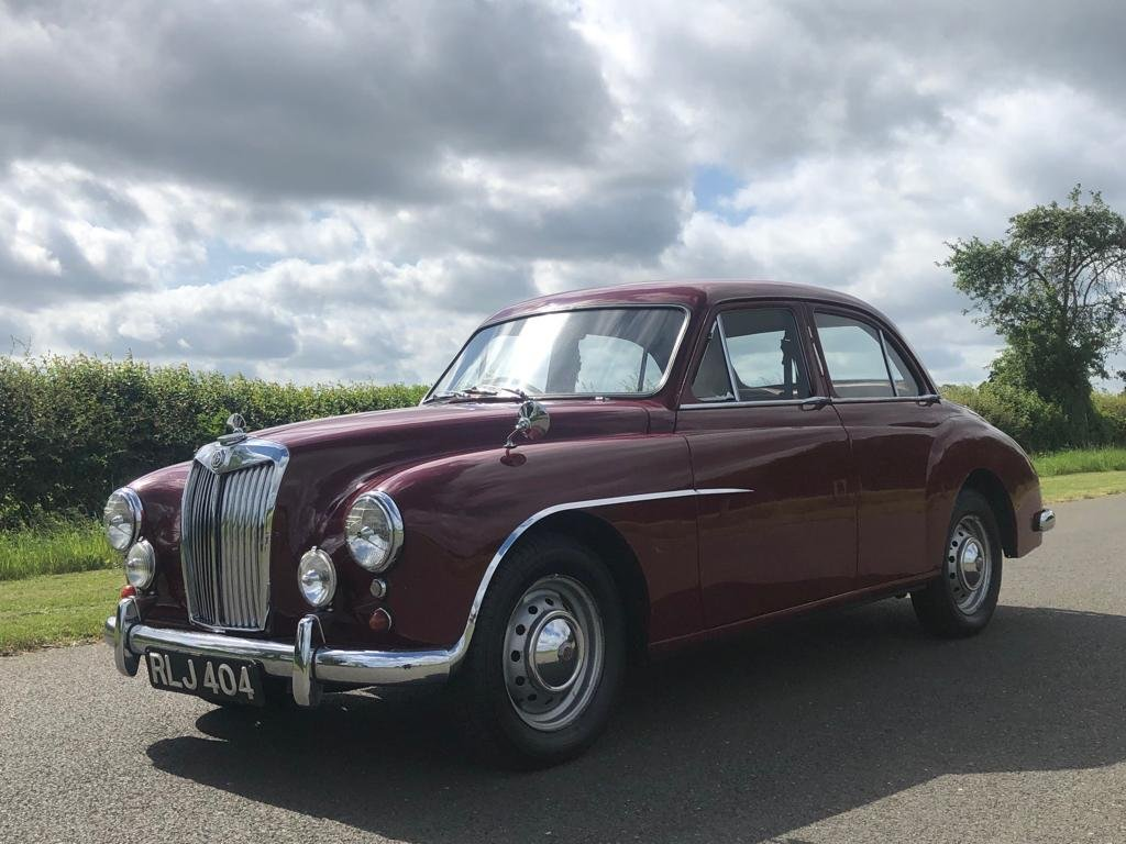 1955 MG Magnette ZA Saloon SOLD (picture 1 of 6)