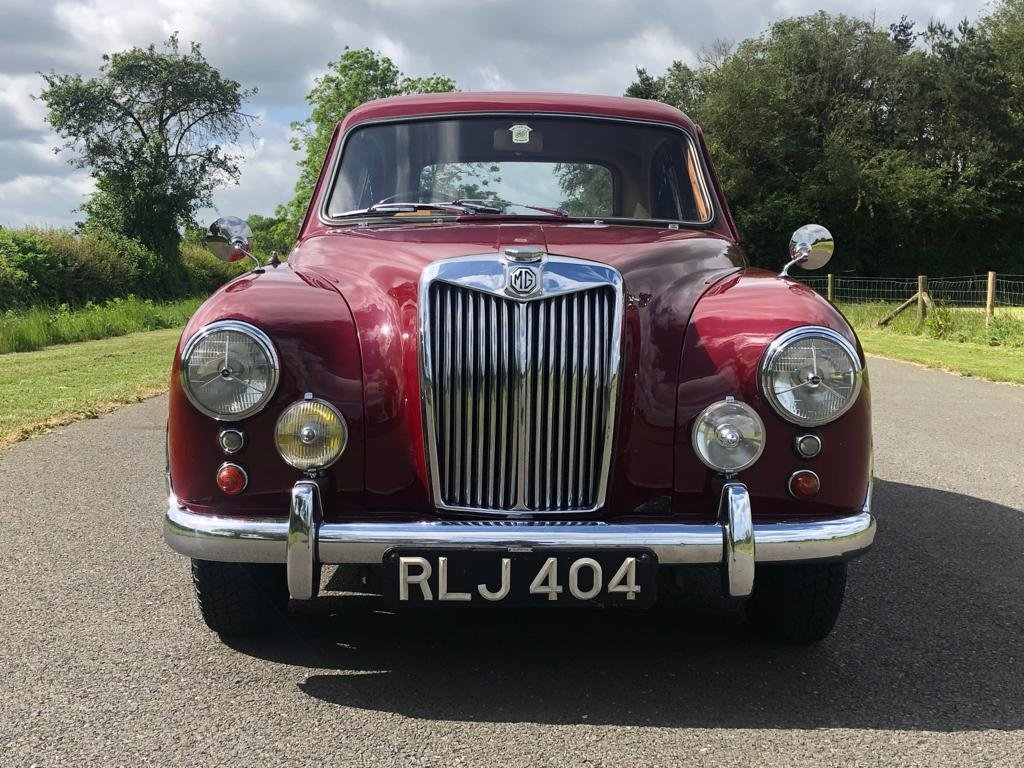 1955 MG Magnette ZA Saloon SOLD (picture 2 of 6)