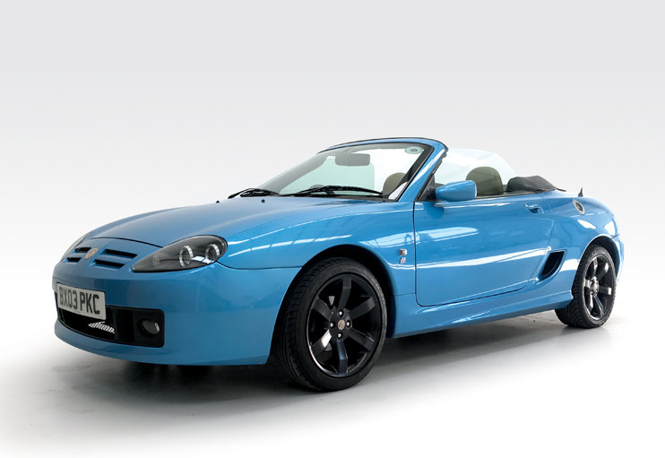 2003 MG TF 135 Celestial Blue DEPOSIT TAKEN SOLD (picture 1 of 6)