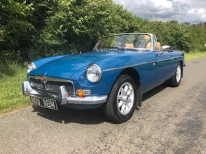 1973 mgb roadster great colour combination For Sale