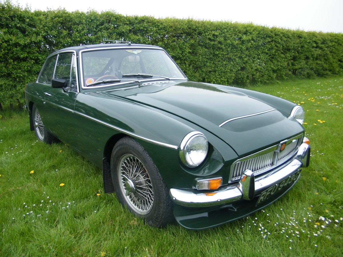1968 MGC GT Downton Conversion original + long term ownership For Sale (picture 1 of 6)