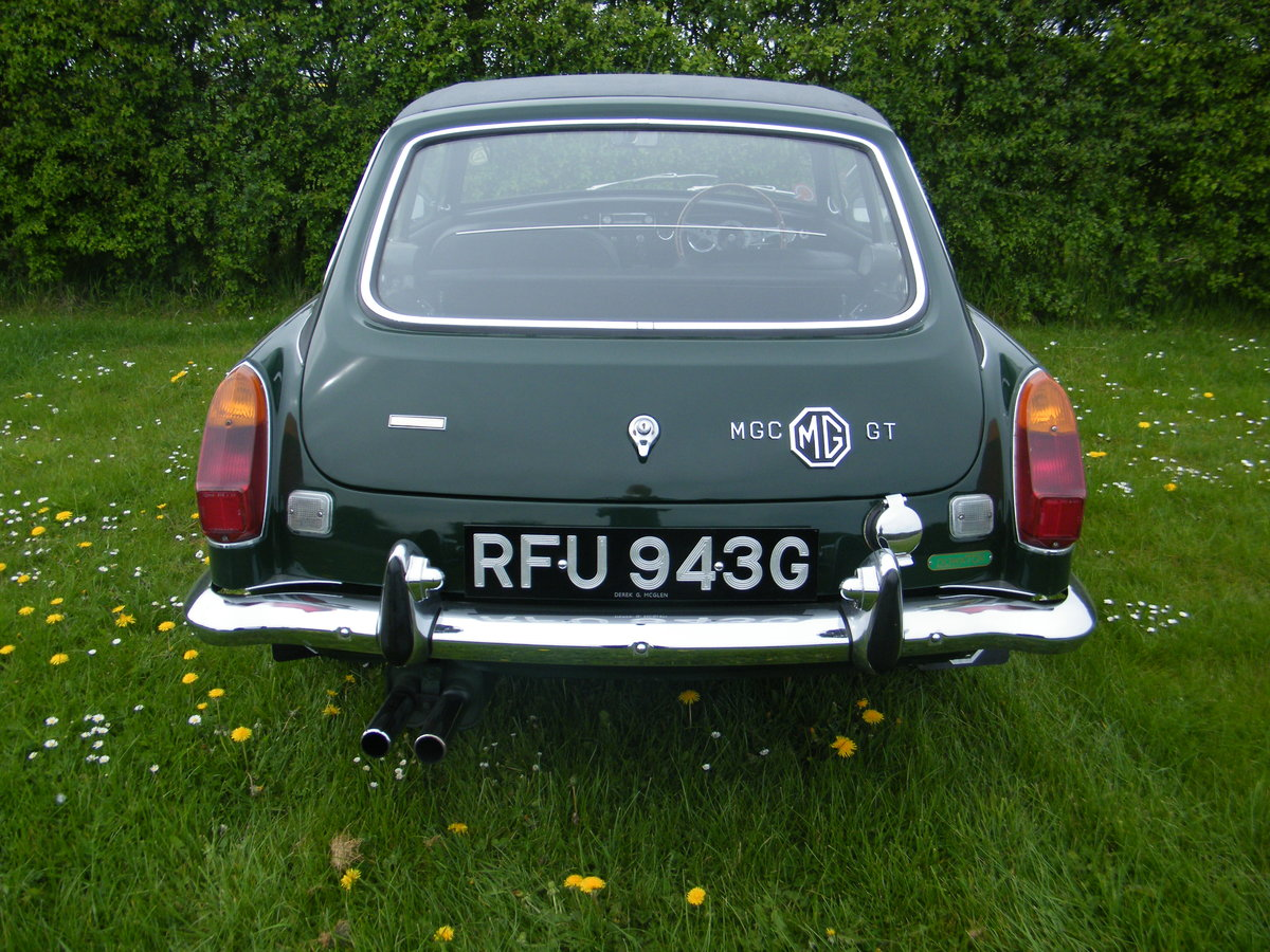 1968 MGC GT Downton Conversion original + long term ownership For Sale (picture 3 of 6)