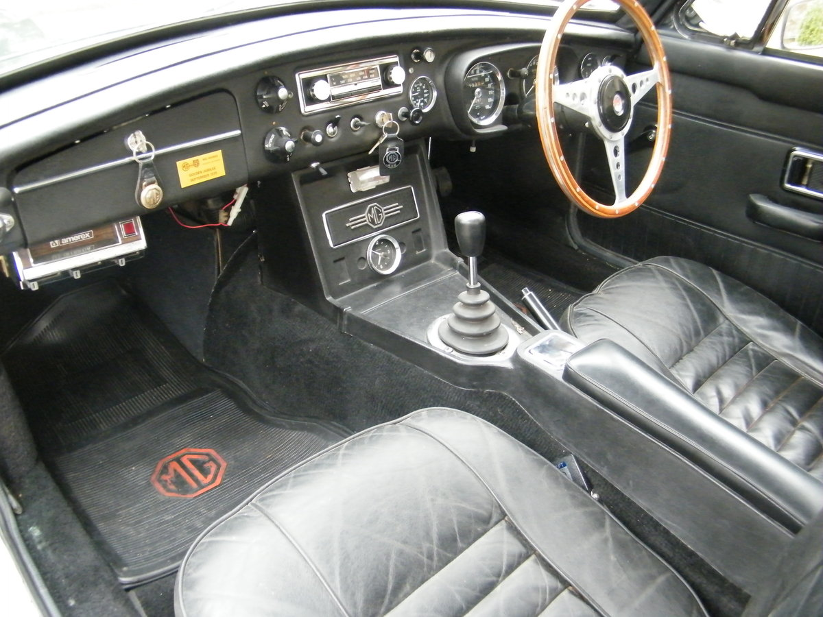 1968 MGC GT Downton Conversion original + long term ownership For Sale (picture 4 of 6)