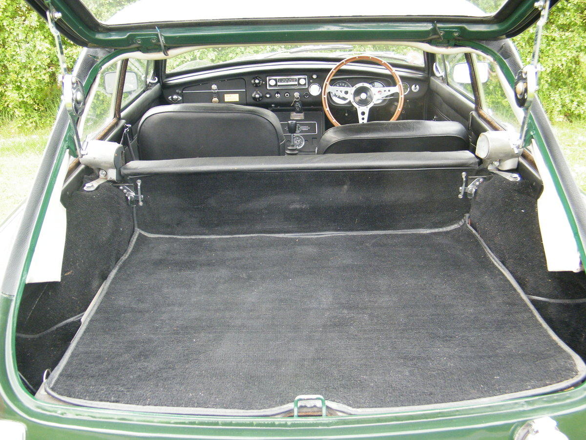 1968 MGC GT Downton Conversion original + long term ownership For Sale (picture 5 of 6)
