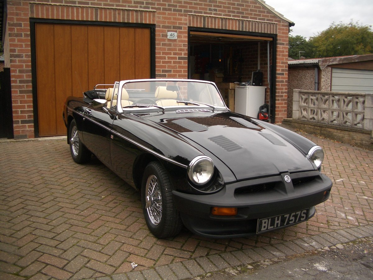 1978 MGB Roadster in outstanding condition SOLD (picture 1 of 6)