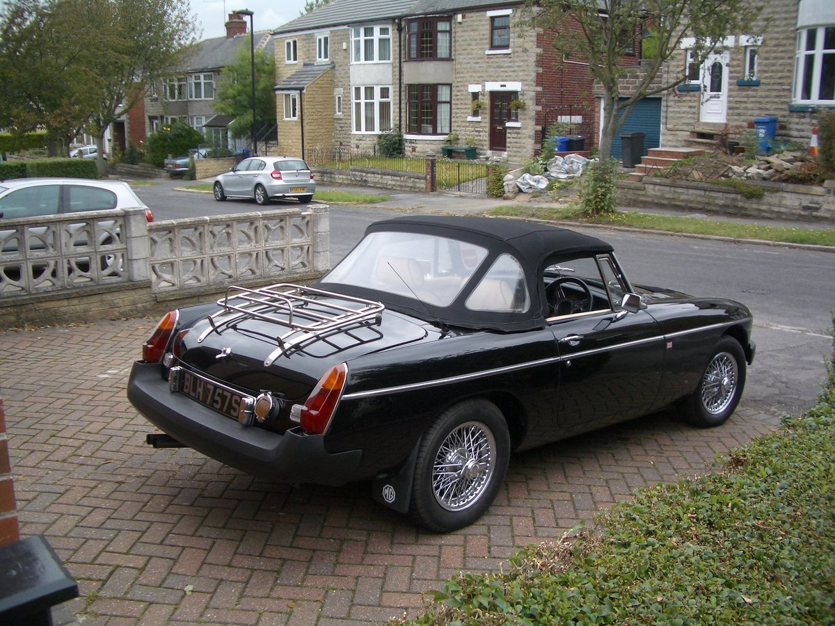 1978 MGB Roadster in outstanding condition SOLD (picture 2 of 6)