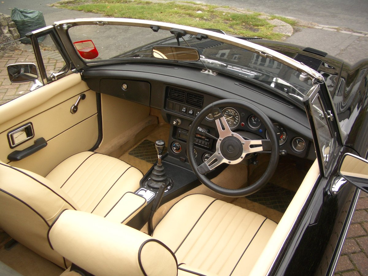 1978 MGB Roadster in outstanding condition SOLD (picture 3 of 6)