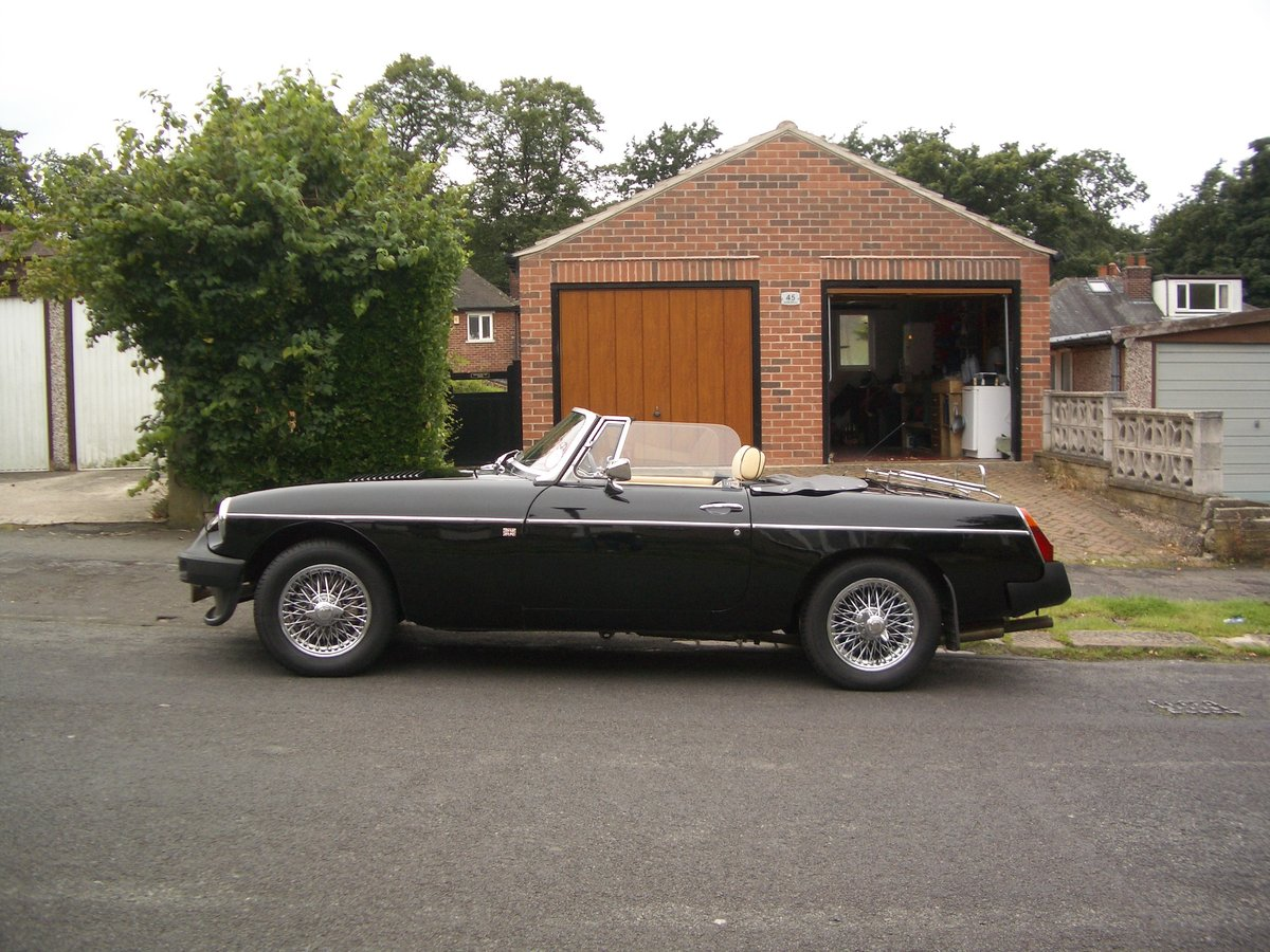 1978 MGB Roadster in outstanding condition SOLD (picture 5 of 6)