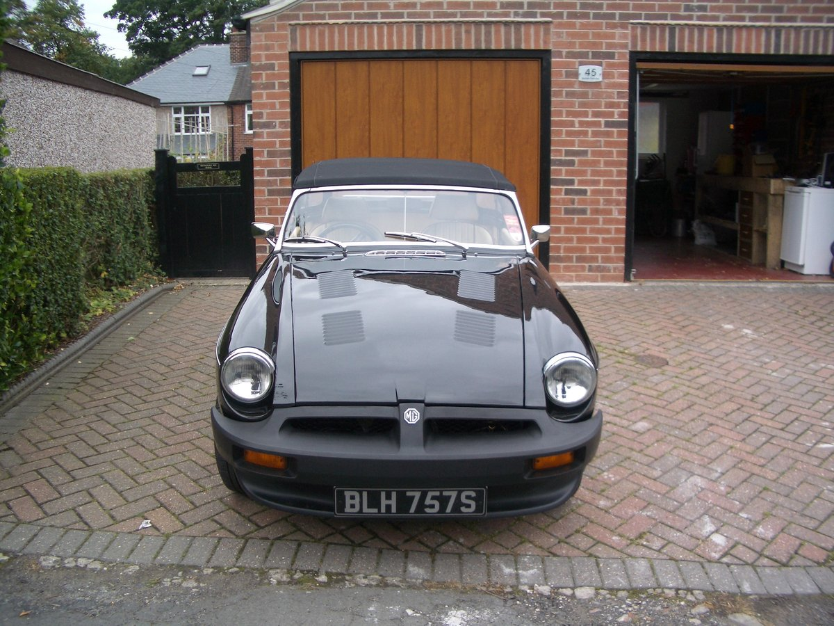 1978 MGB Roadster in outstanding condition For Sale (picture 6 of 6)