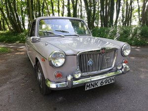 1969 MG 1300 GT SOLD