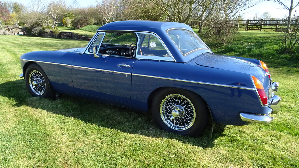 1967 MGB Lovely early example in outstanding condition For Sale (picture 3 of 6)