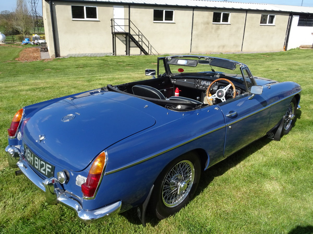 1967 MGB Lovely early example in outstanding condition For Sale (picture 4 of 6)