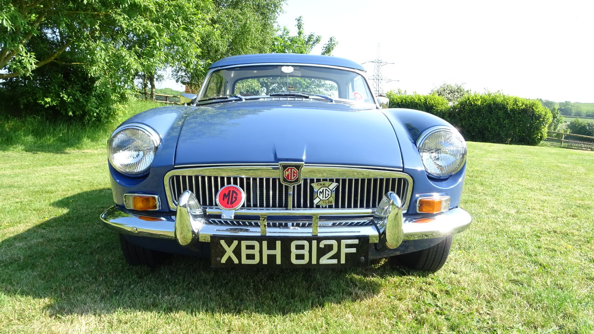 1967 MGB Lovely early example in outstanding condition For Sale (picture 6 of 6)