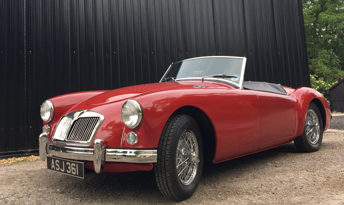 1958 MGA Roadster - last owner 21 years For Sale (picture 1 of 6)