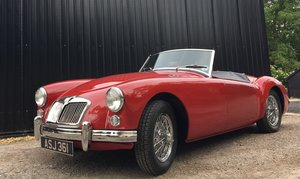 1958 MGA Roadster - last owner 21 years