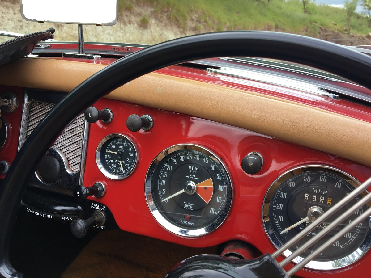 1958 MGA Roadster - last owner 21 years For Sale (picture 3 of 6)