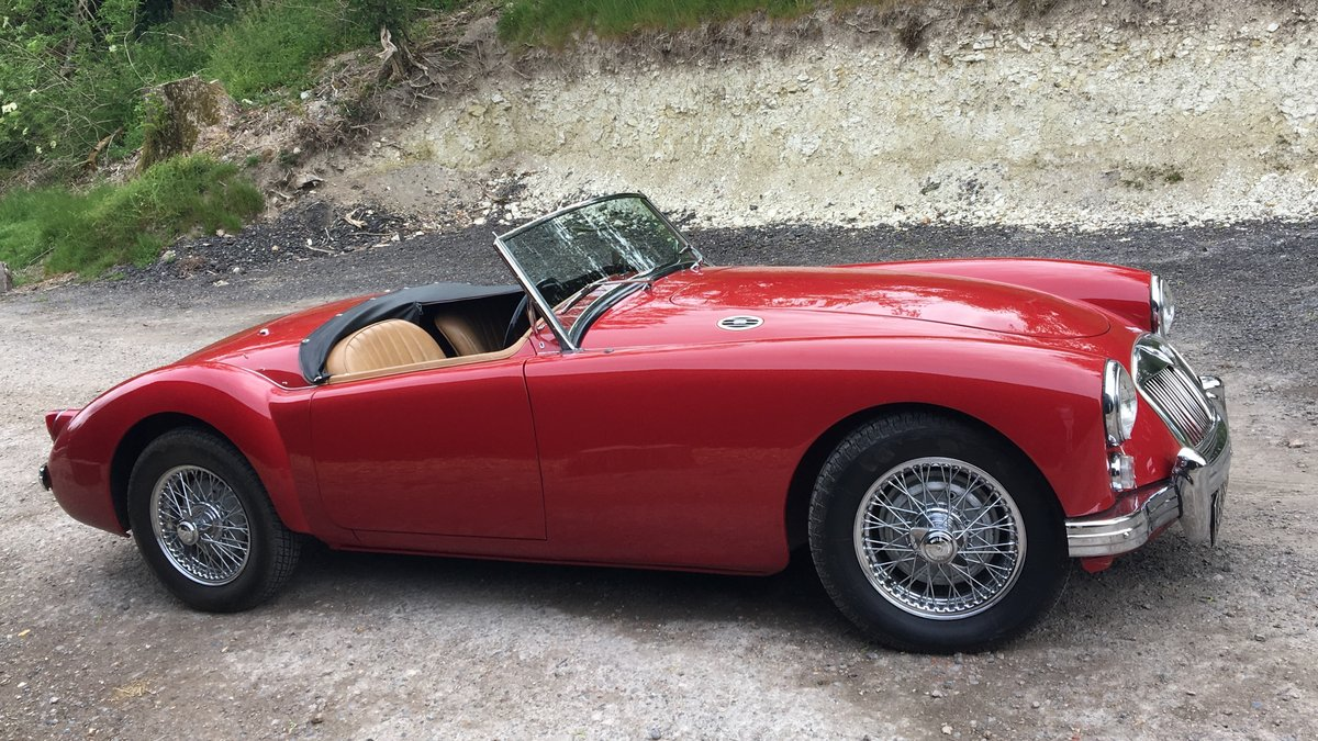 1958 MGA Roadster - last owner 21 years For Sale (picture 6 of 6)