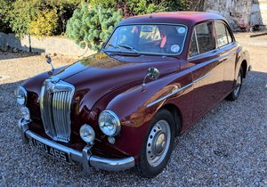 MG Magnette ZB, Damask Red, 1957 For Sale