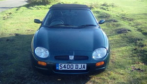1998 mgf 1.8 convertible For Sale