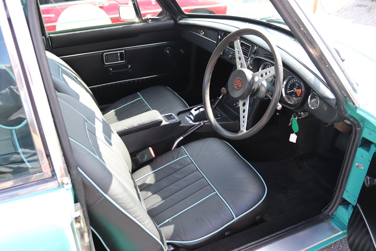 1970 MGB GT Automatic, Aqua,Fully rebuilt SOLD (picture 5 of 5)
