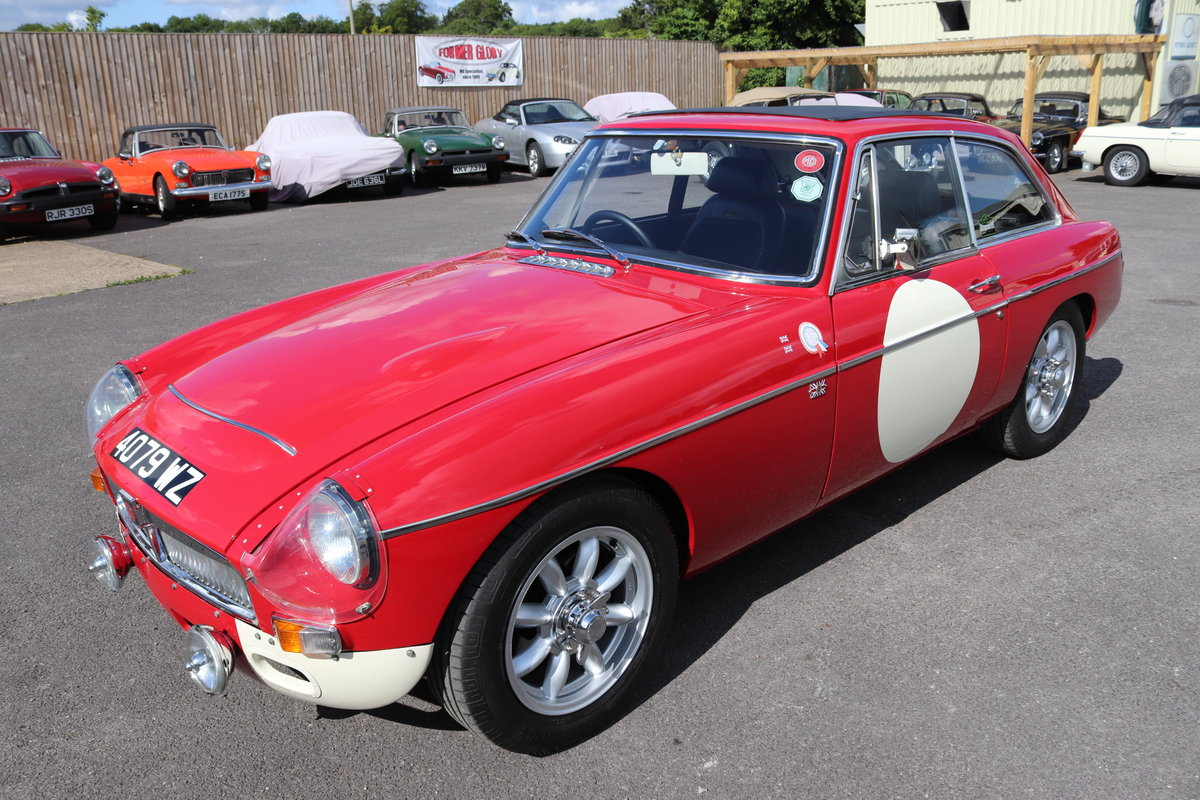 1968 MGC GT, Restored to historic road spec,Full sunroof SOLD (picture 1 of 6)