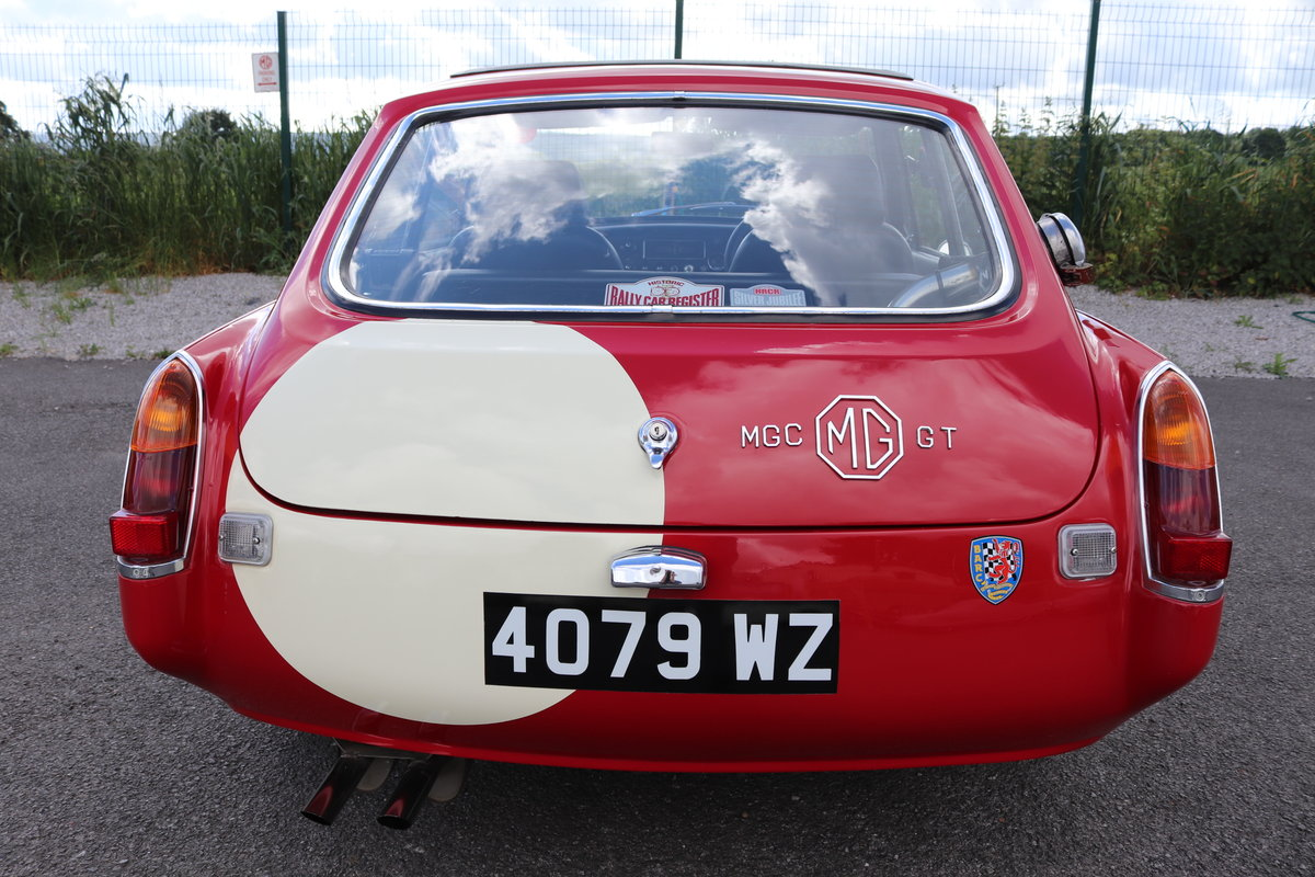1968 MGC GT, Restored to historic road spec,Full sunroof SOLD (picture 3 of 6)