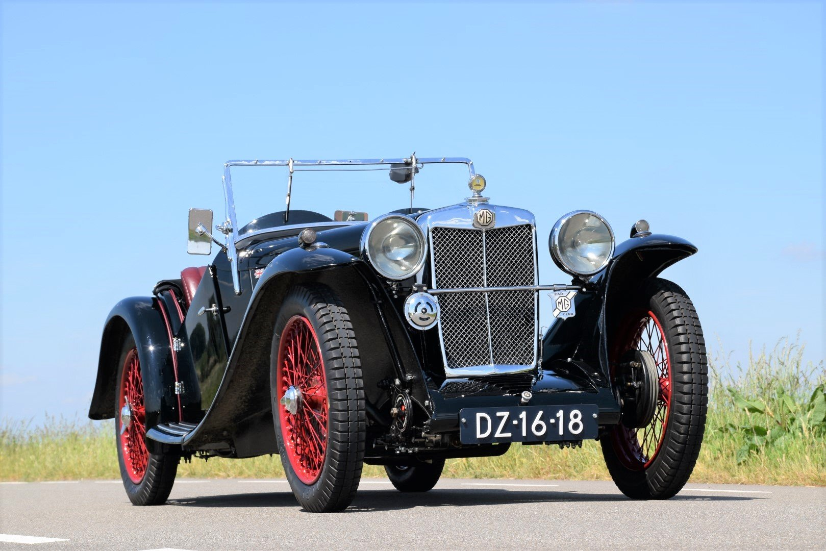 1934 MGJ2 Midget For Sale (picture 1 of 6)