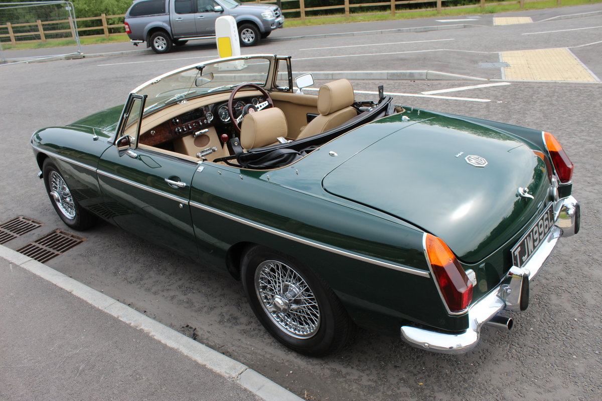 1973 MGB Roadster With O/D Original UK RHD SUPERB SOLD (picture 3 of 6)