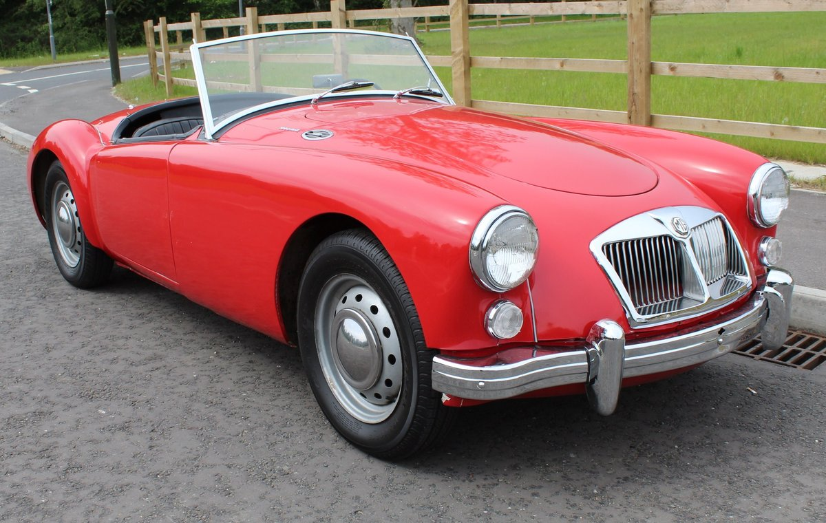 1961 MGA 1600 MK2 Roadster LHD Very Good Condition  SOLD (picture 1 of 6)