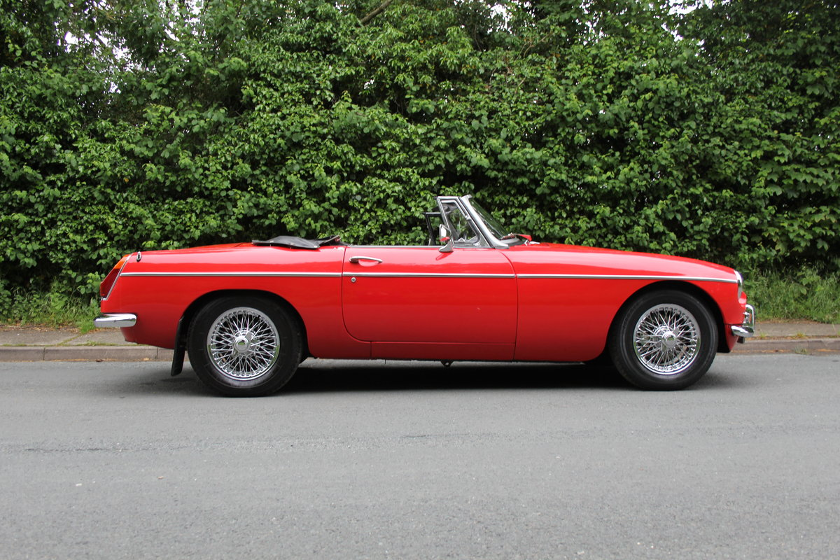 1970 MGB Roadster - UK car, overdrive, CWW For Sale (picture 6 of 12)